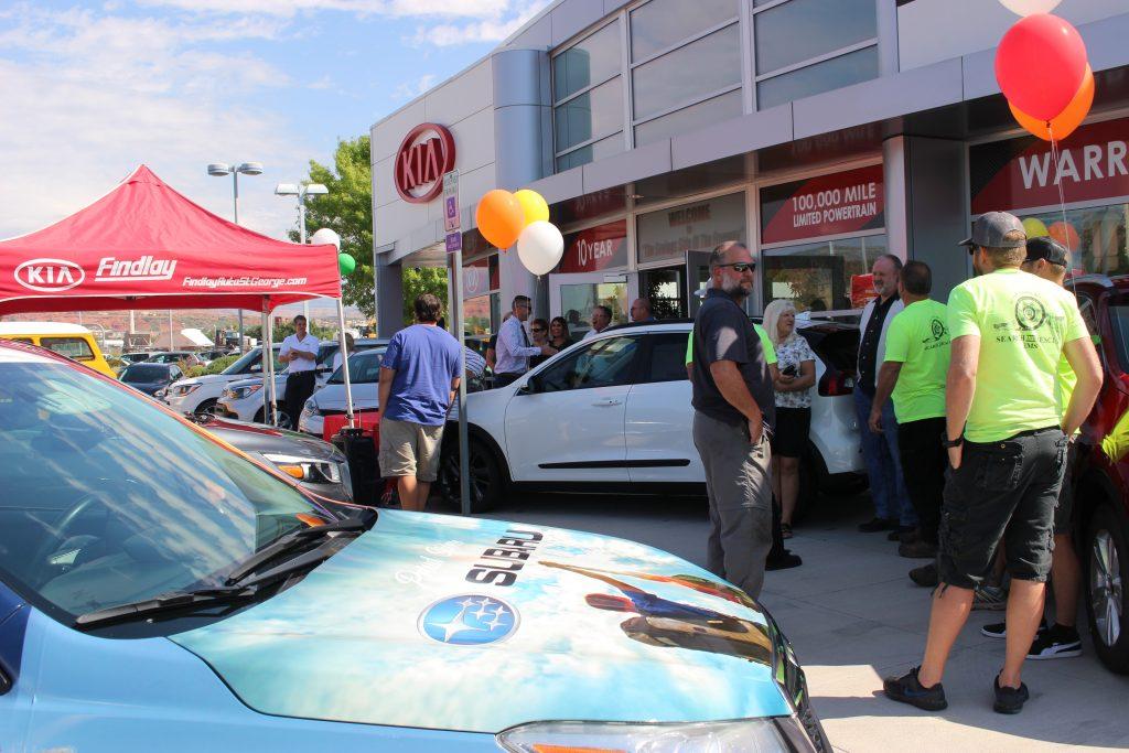 Findlay Auto Group Presents 11 545 Check To Washington