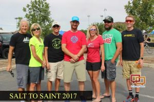 Teams see each other to the finish line in 'Salt to Saint' cycling relay