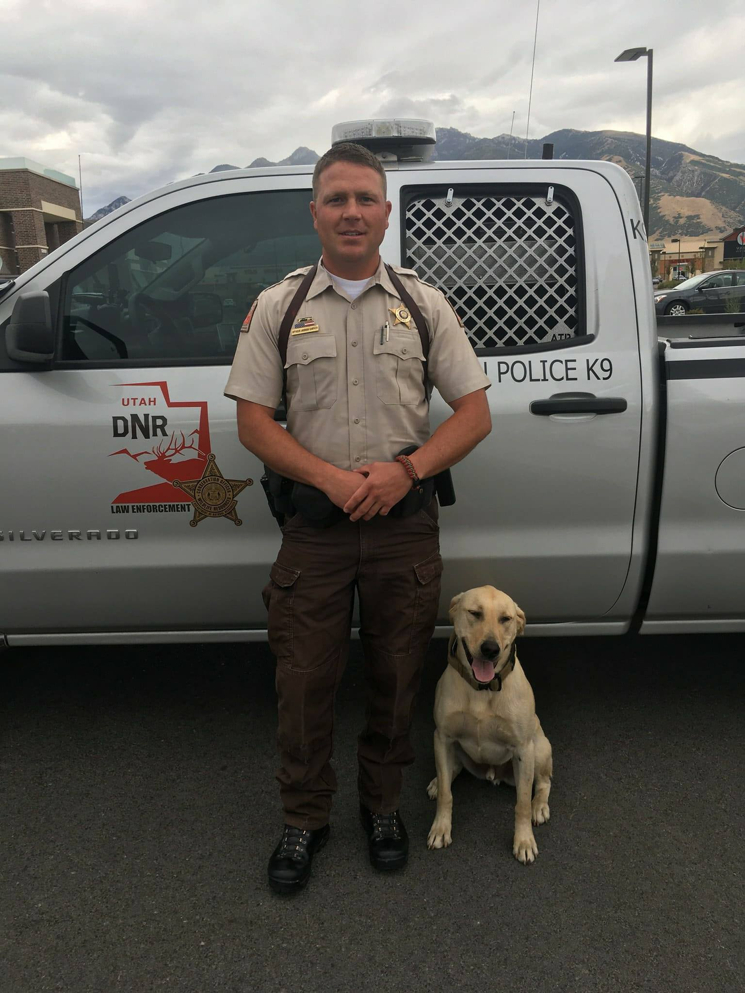 Don't Doubt This Snout: New K-9 Officer Joins Rangers
