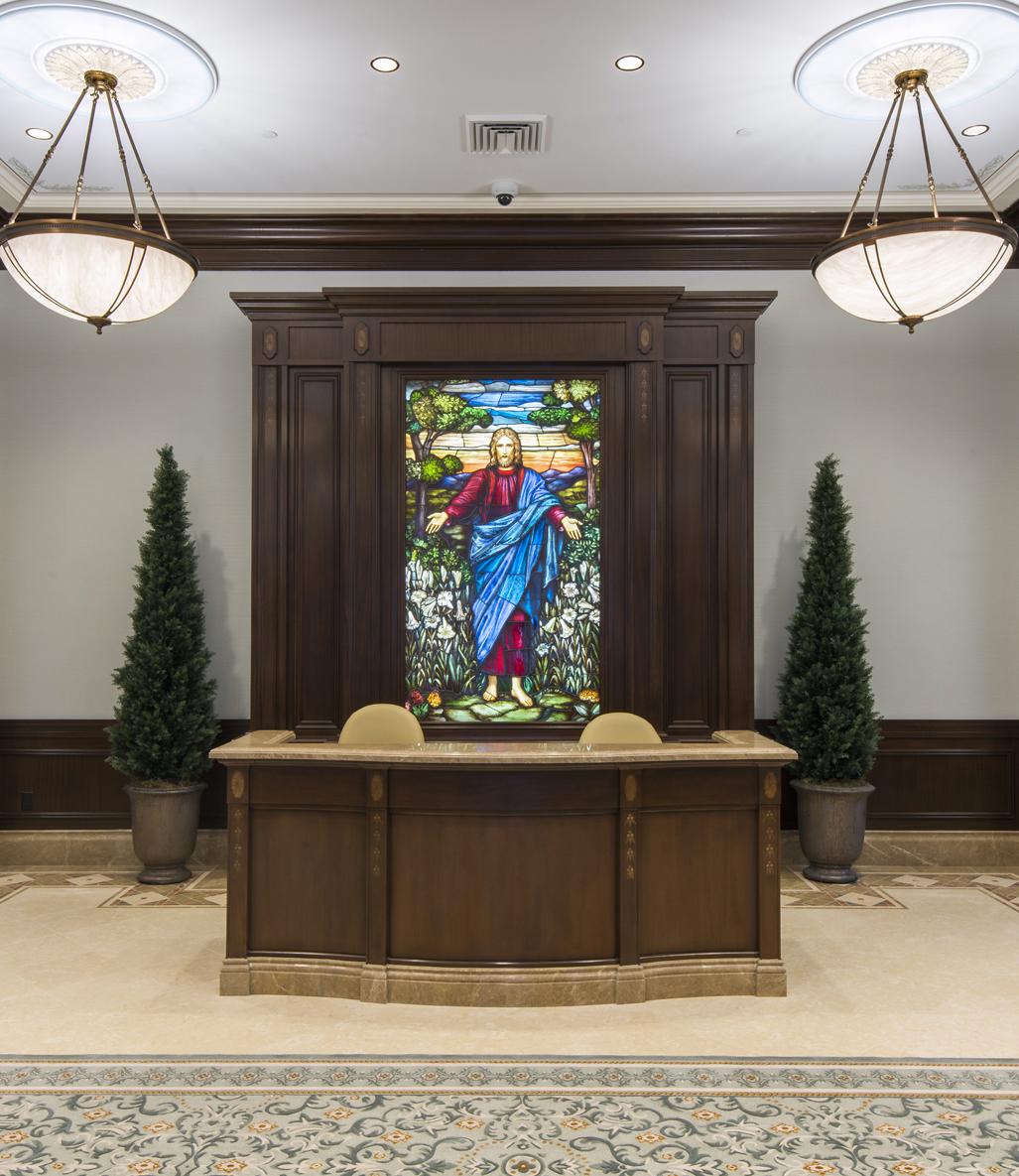 City Glass Windows : Even for a non mormon touring the new temple in cedar