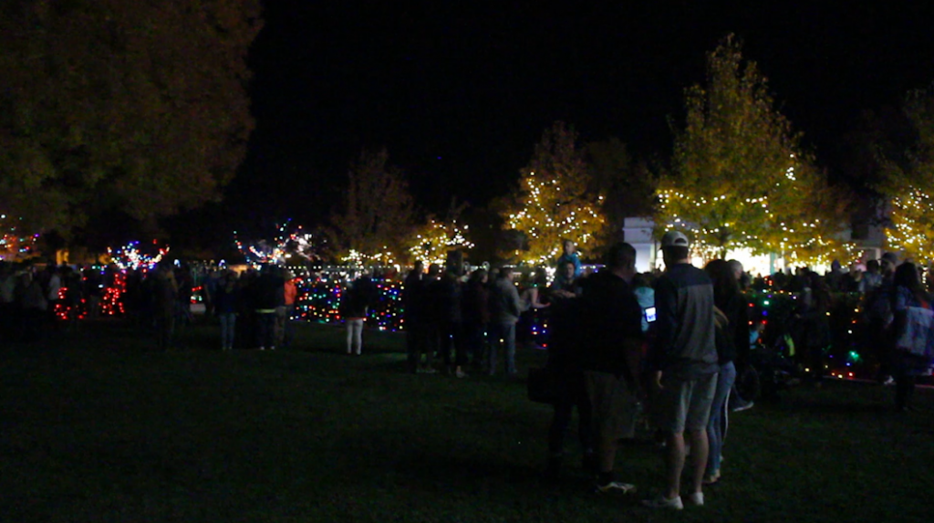 Temple Christmas lighting ceremony ushers in \'time of celebrating ...