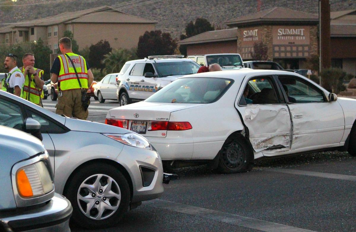 Plume Of Black Smoke Blinds Driver Leads To T Bone Crash