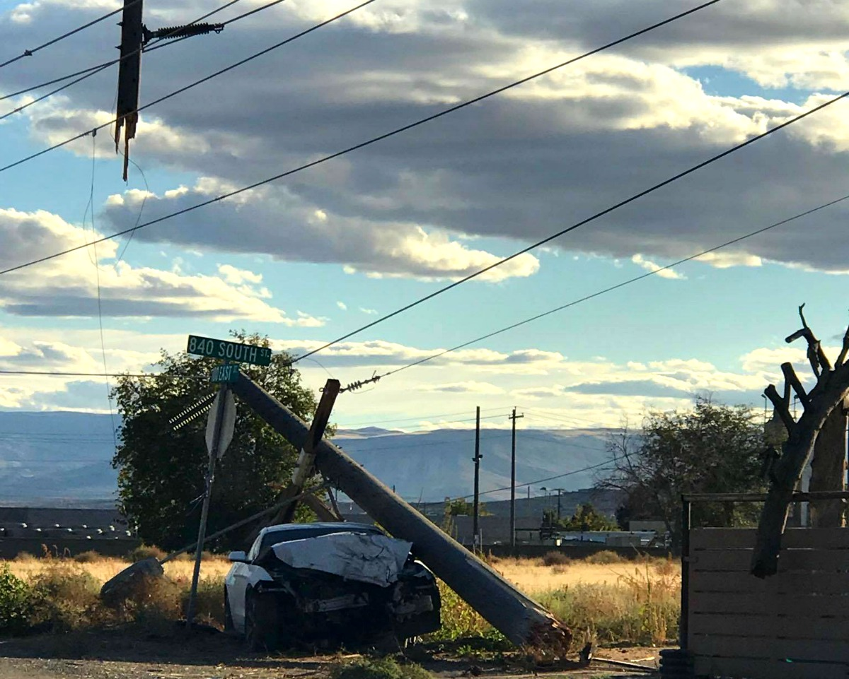 Car Accident Power Outage Washington