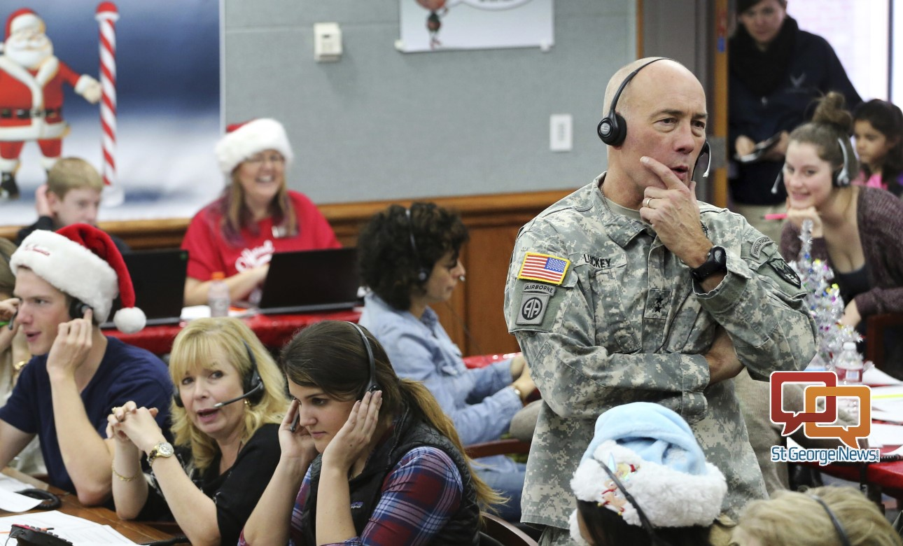 For 62nd year, NORAD takes calls from kids awaiting Santa; tracking ...