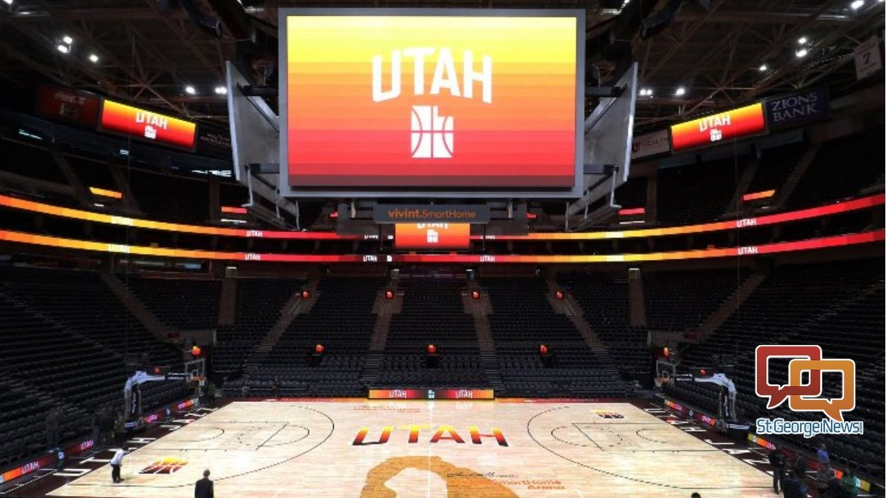 f0c696bee  It s exciting   Tourism officials thrilled for Jazz s new Southern Utah red  rock-themed jerseys and basketball court – St George News