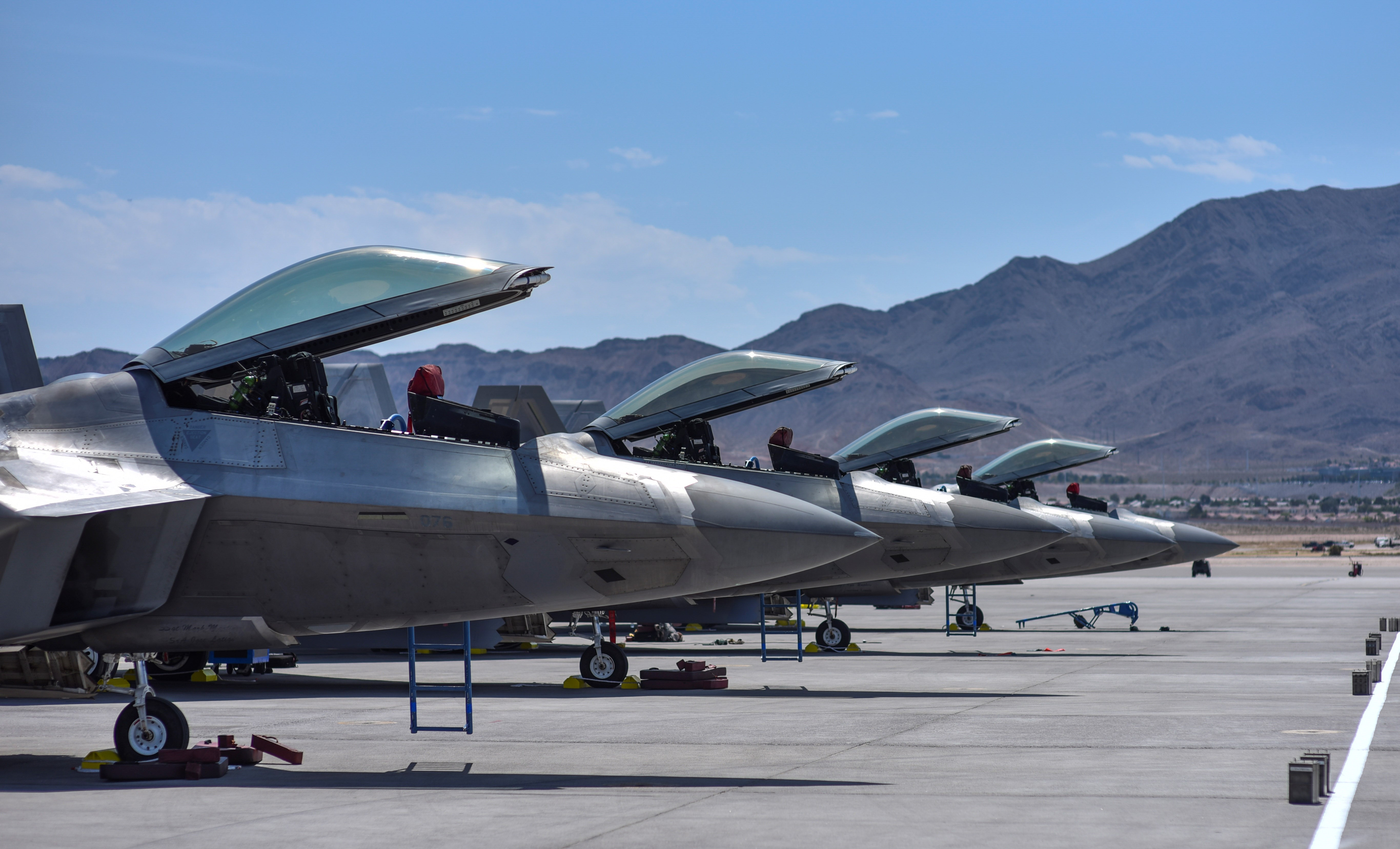 Shake, rattle and…boom? 2nd round of Red Flag combat