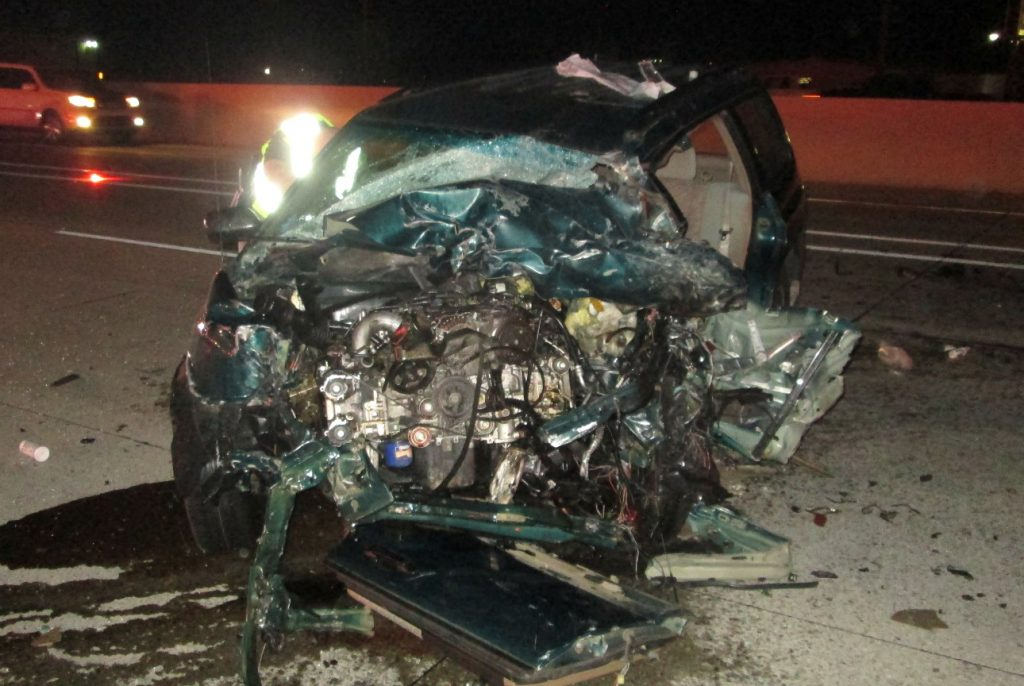 2nd serious wrong-way driver crash in a week critically injures