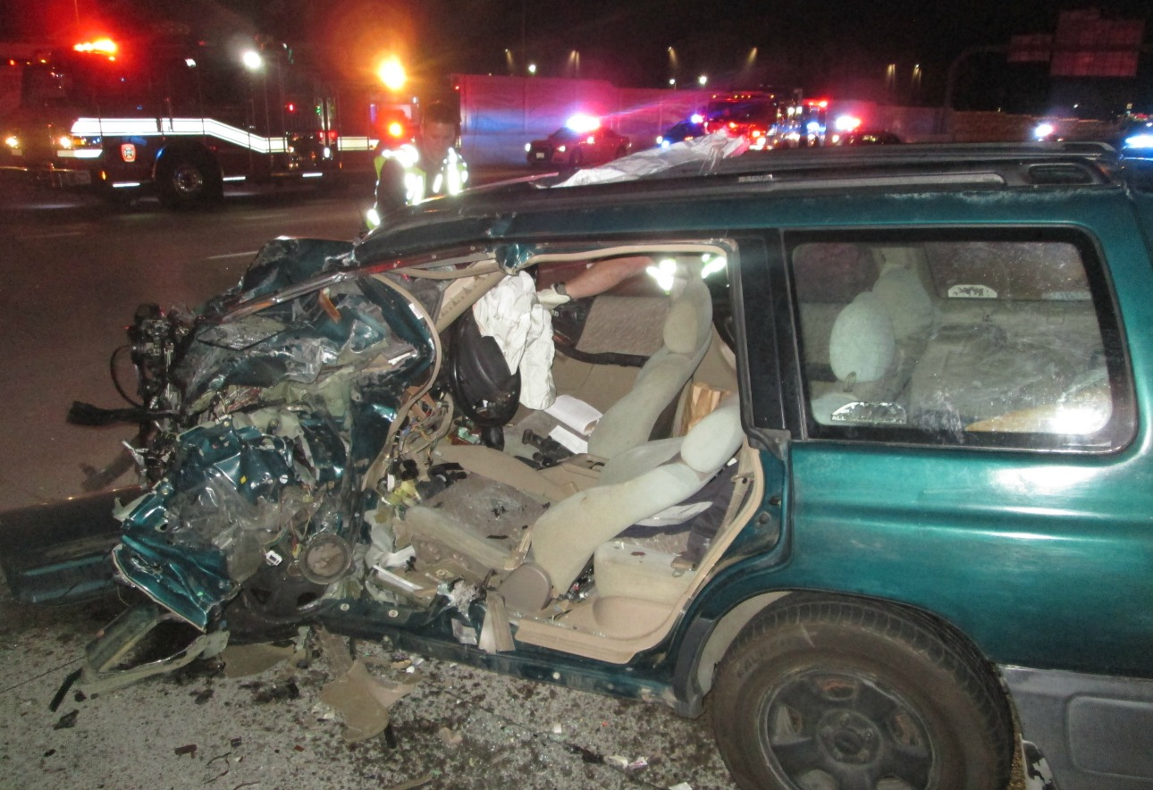 2nd serious wrong-way driver crash in a week critically