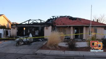Early Morning Fire Severely Damages St George Home St George News