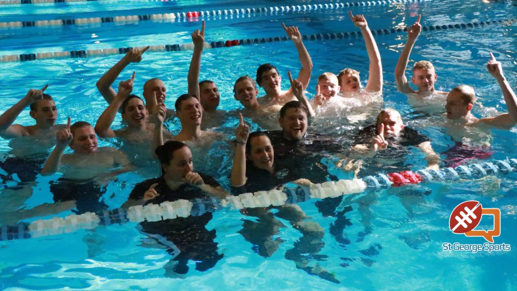 Desert Hills Boys Win 4a State Swim Title Lady Thunder Take Third St George News