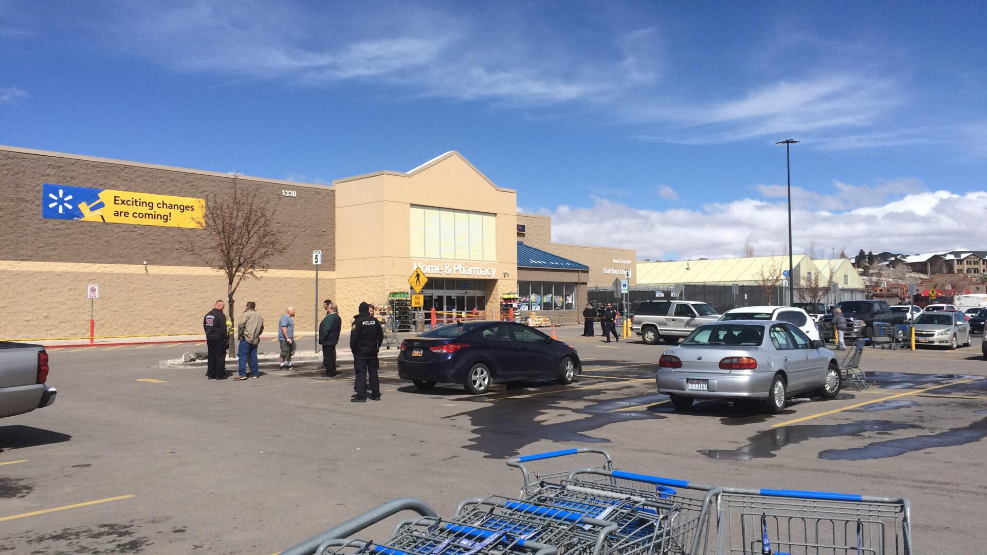 Suspicious Drop Off Of Package At Cedar City Walmart Triggers Police