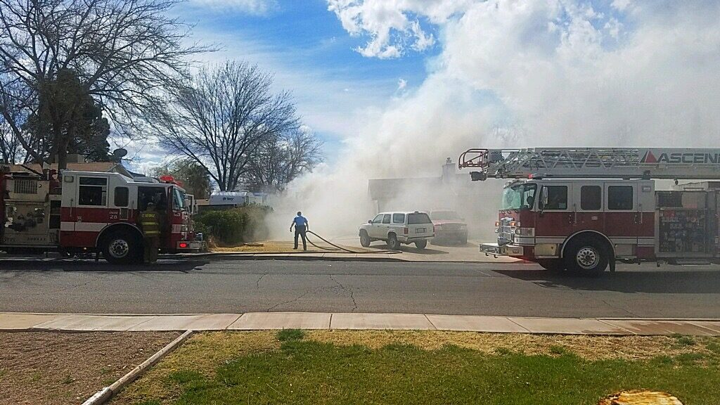 Fire at st george residence causes 20 000 in damages for Detached garage utah