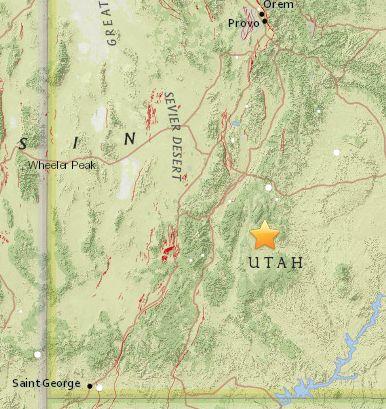 Earthquake Rattles Southwestern Utah One Of Many In The Last 2