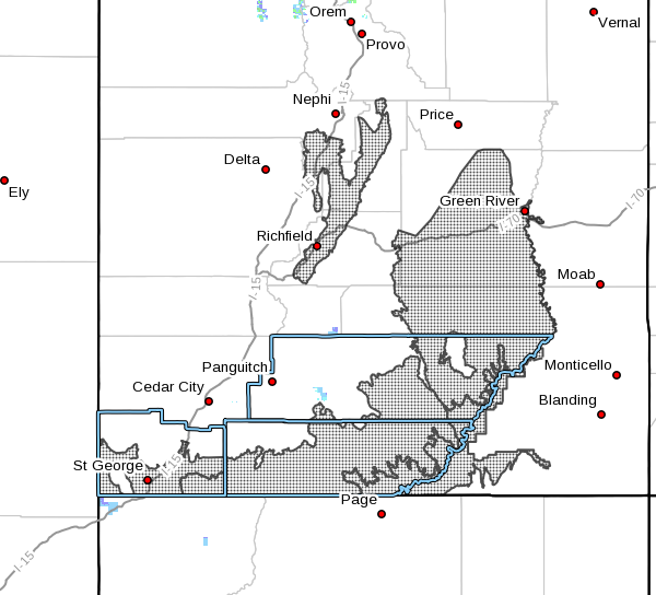 Map Of Northern Arizona Cities.National Weather Service Warns Of High Winds In St George Fire