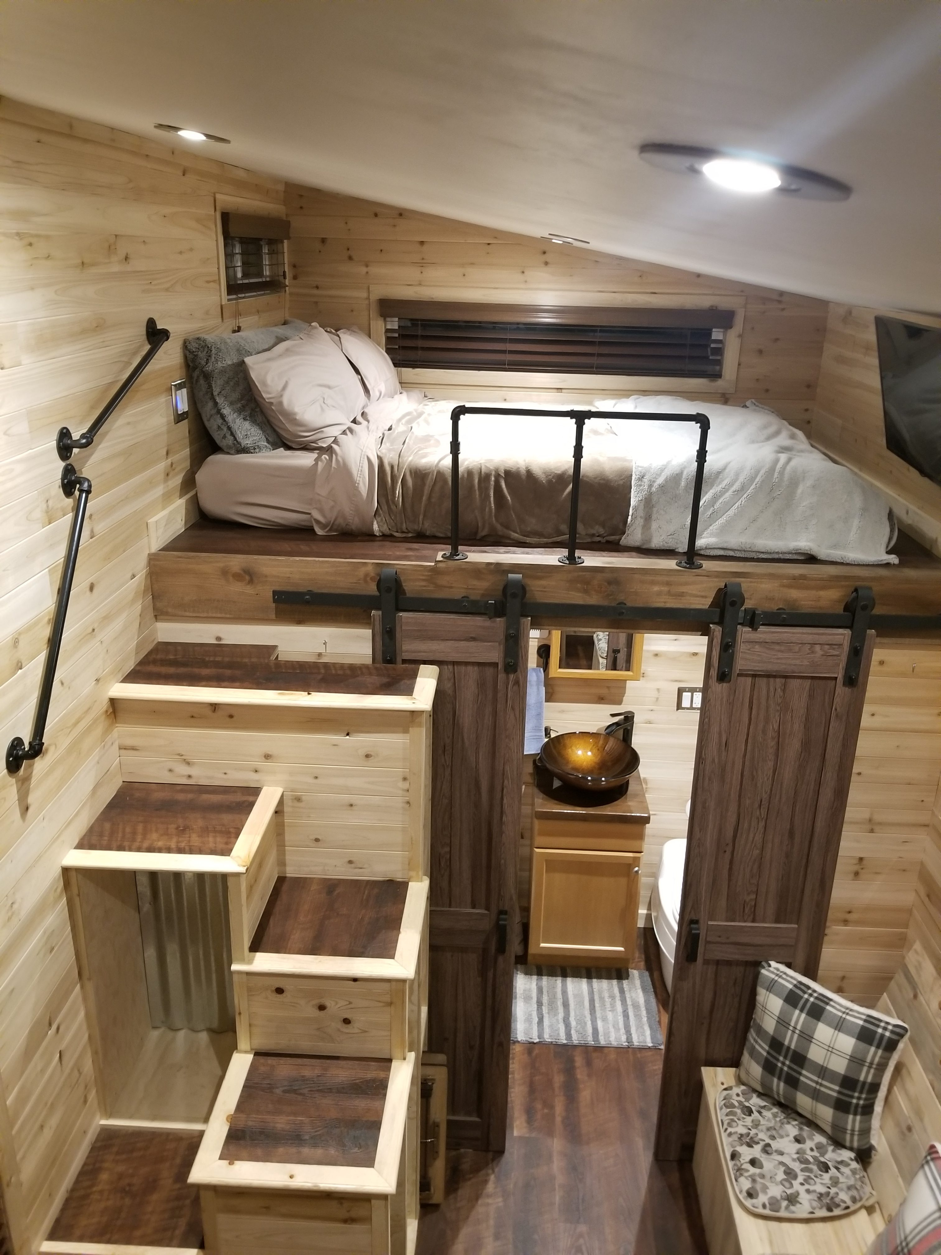My Hardships Became The Best Qualities In Me Zion S Tiny Homes