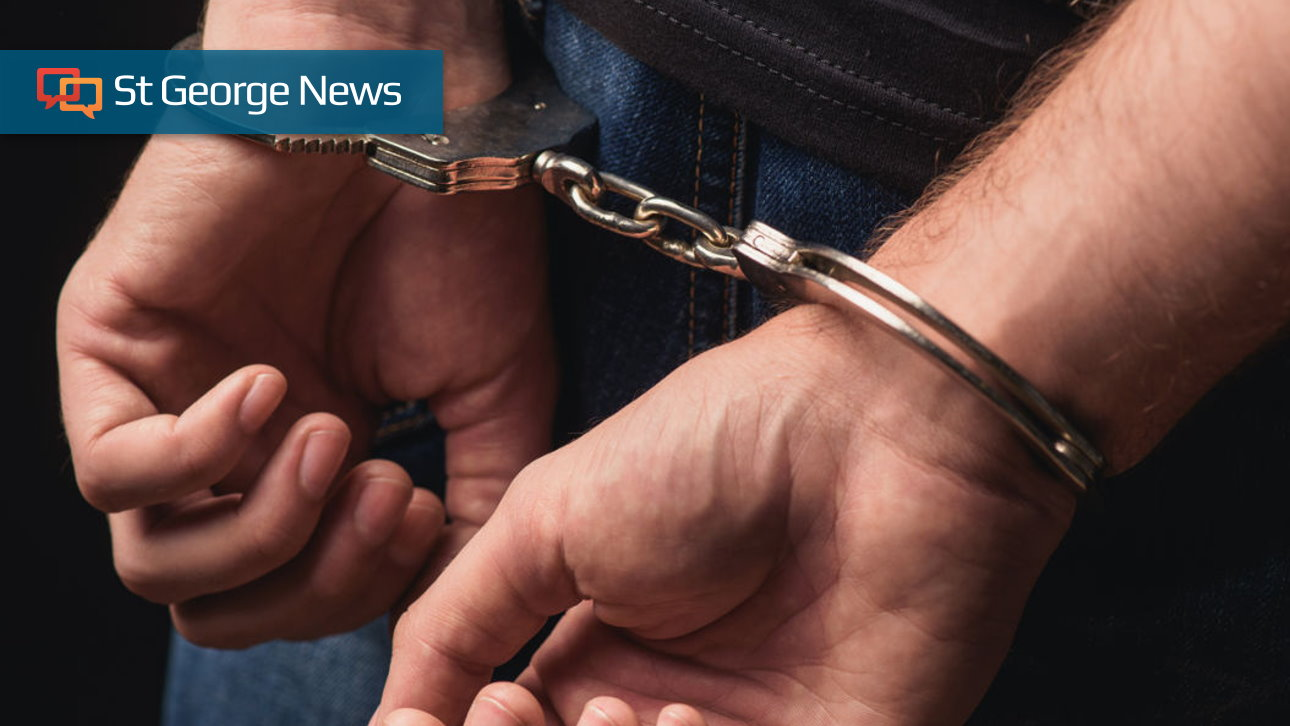 Stolen Vehicle Incident Nets 2 Arrests St George News
