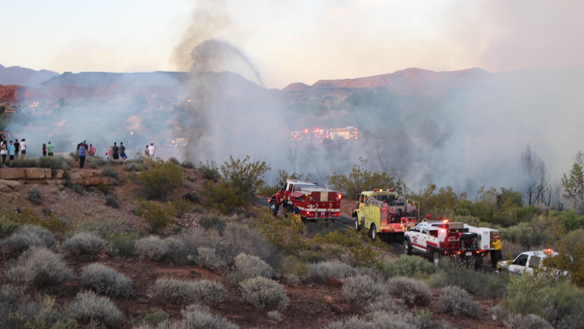 Car Wash Santa Clara >> Authorities suspect children started brush fire in Sand Hollow Wash – St George News
