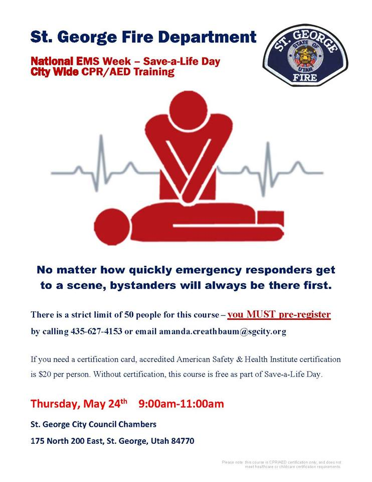 CPR AED certification training classes - oukas.info