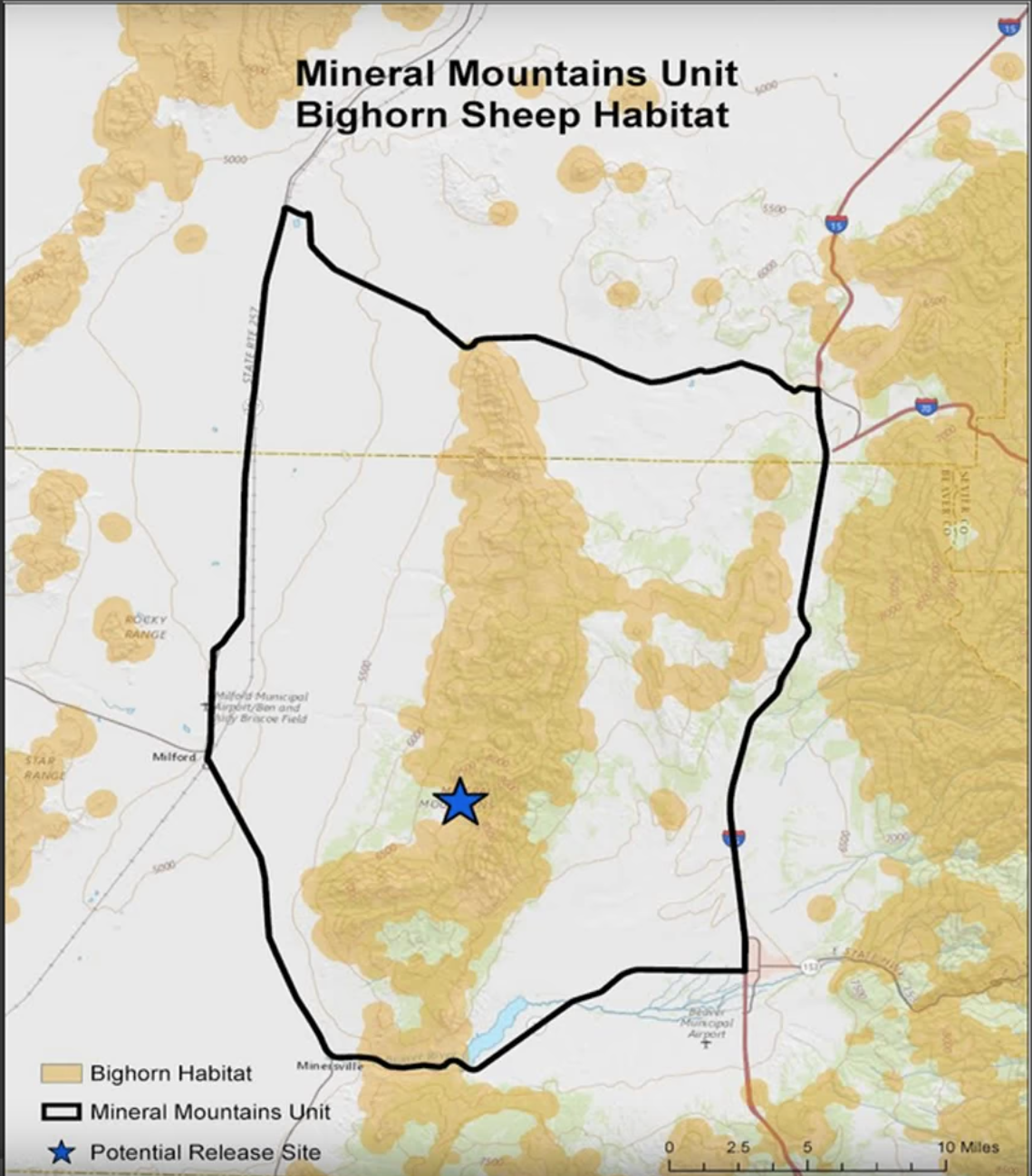 Bighorn sheep to be reintroduced in mountains near Beaver ...