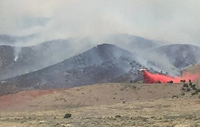 more than 4 000 acres burn in black mountain fire as high winds continue st george news. Black Bedroom Furniture Sets. Home Design Ideas