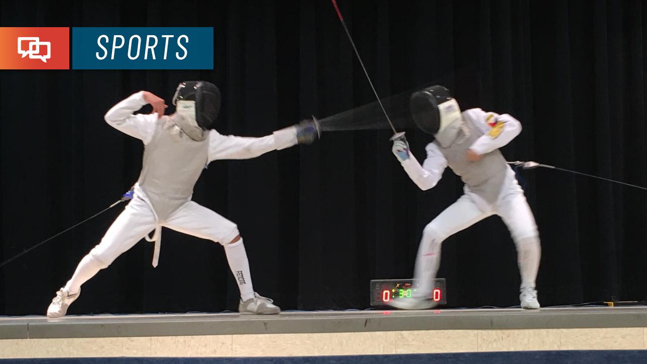 En Garde 12 Year Old Fencer Qualifies For Nationals St
