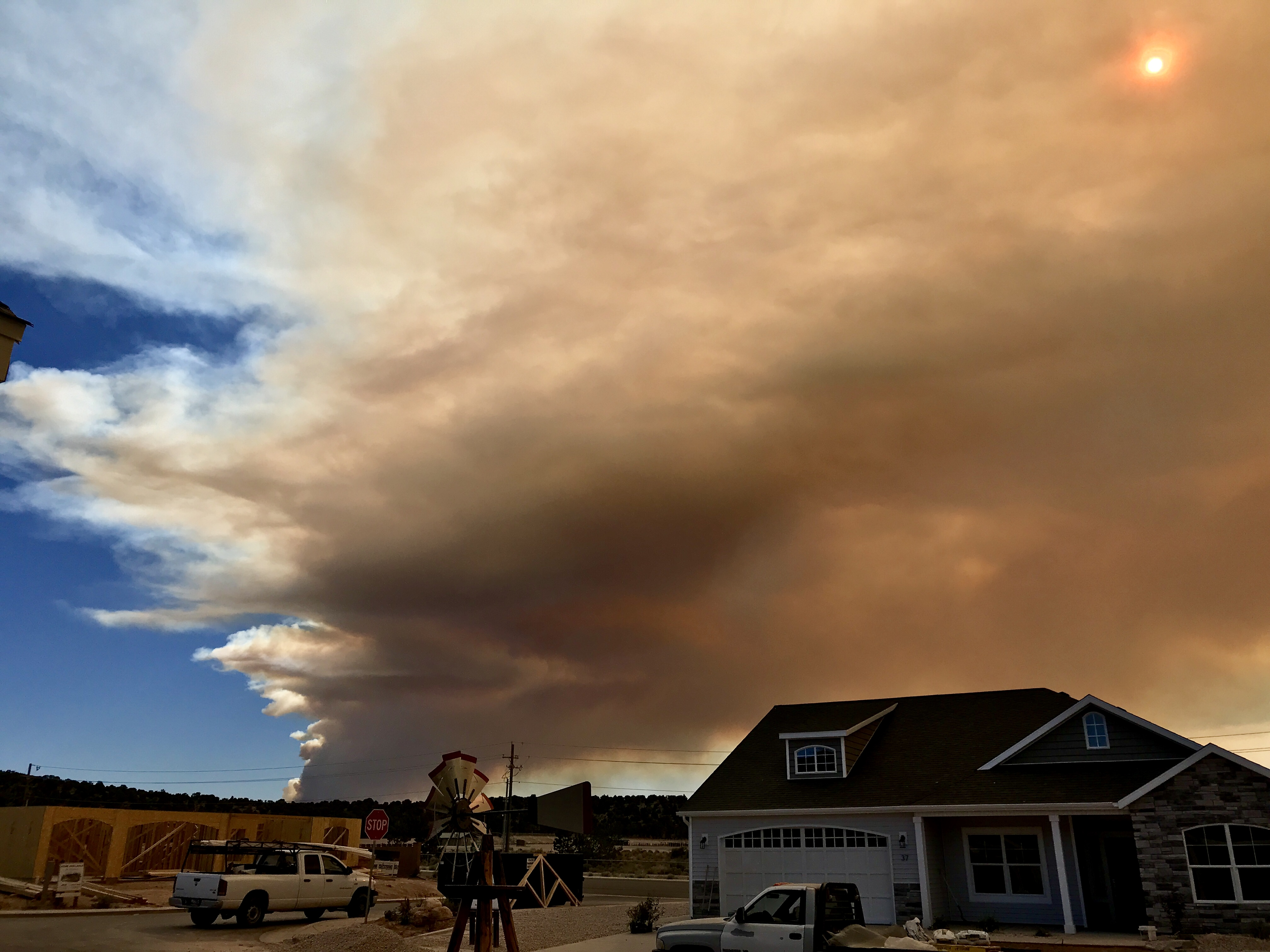 News LIVE: Wildfire on Pine Valley Mountain threatens 10 ...