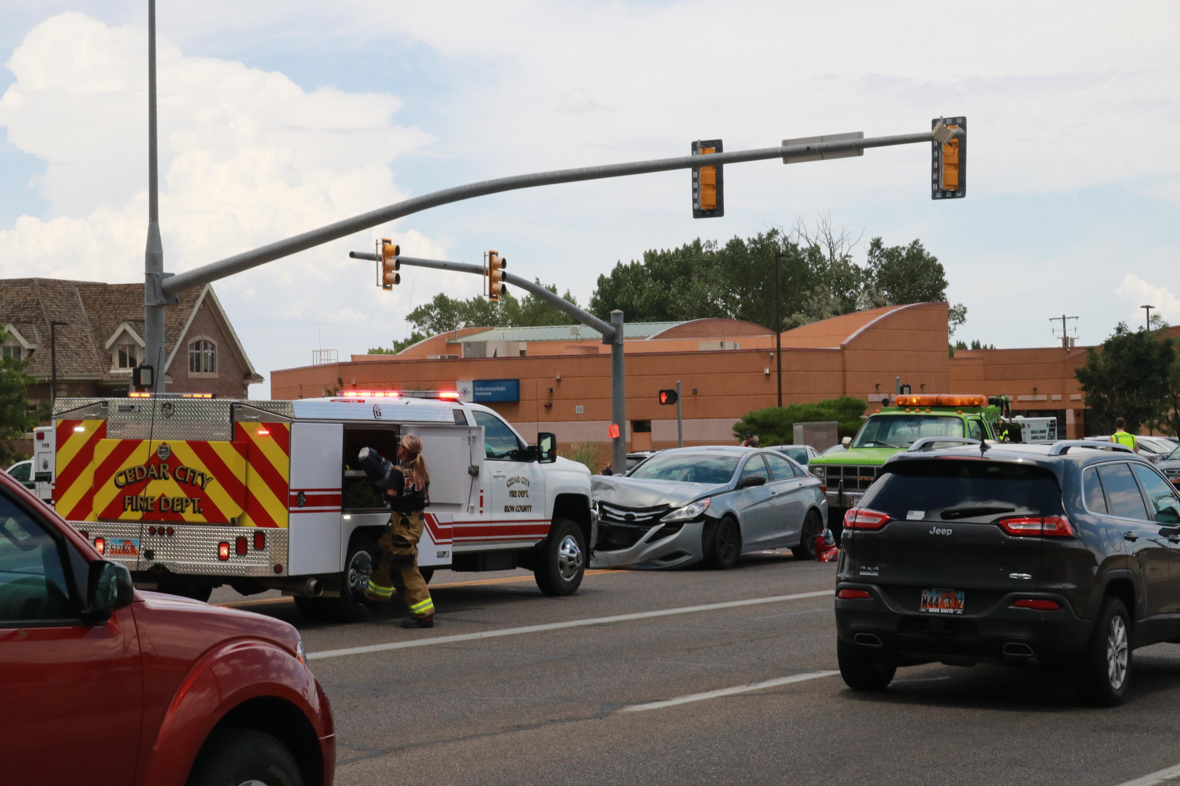 1 Crash Becomes 2 At Main Street Intersection St George News