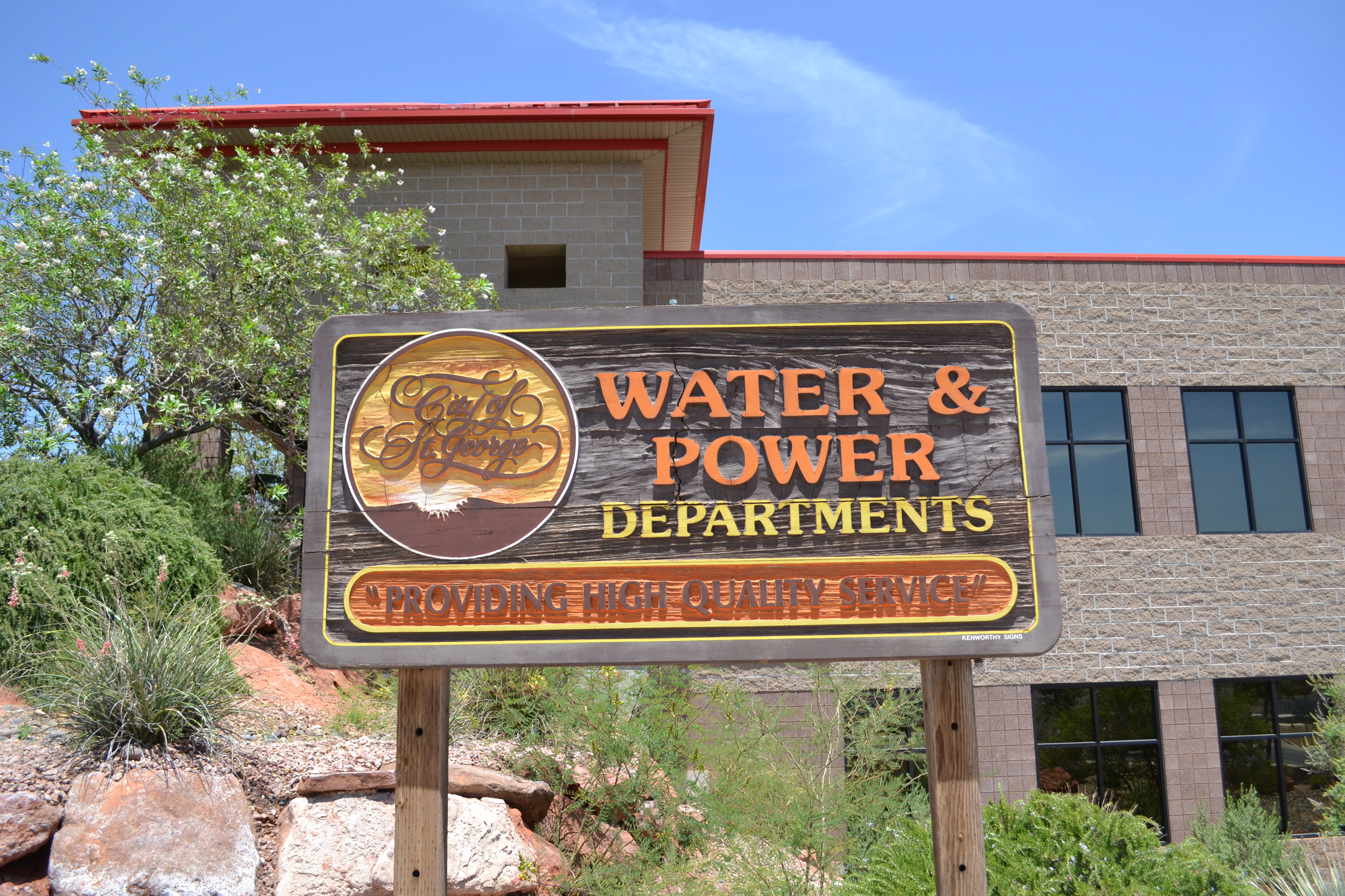 Headquarters Of The St George Water And Departments Utah July 6 2018 Photo By Joseph Witham News