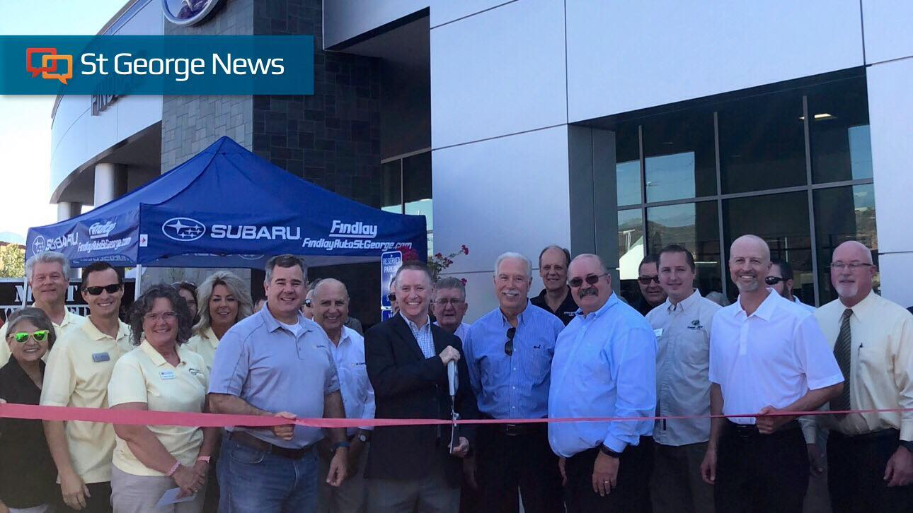 Findlay Subaru Celebrates Grand Opening Of State Of The Art Facility U2013 St  George News