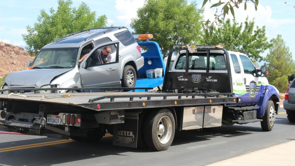 Brigham Road Crash Results In Impounded Car 3 Citations