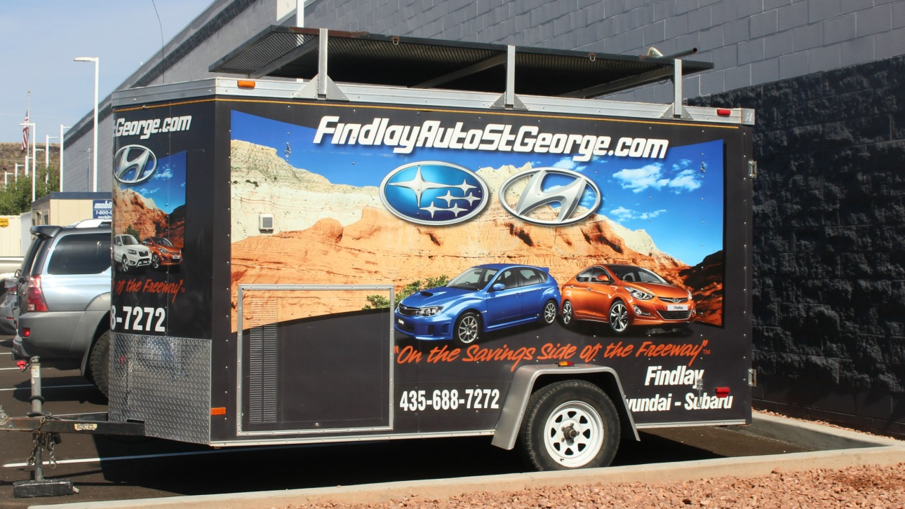 Marvelous Findlay Trailer That Is Hauled To More Than 40 Events Every Month And  Provides Music, Wireless Service And Other Amenities Free To The Public, St.  George, ...