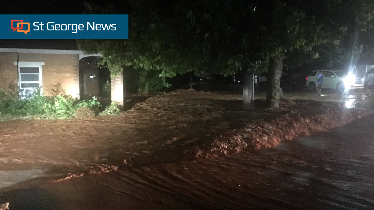 Storm floods roads homes in washington city st george news for Washington home builders