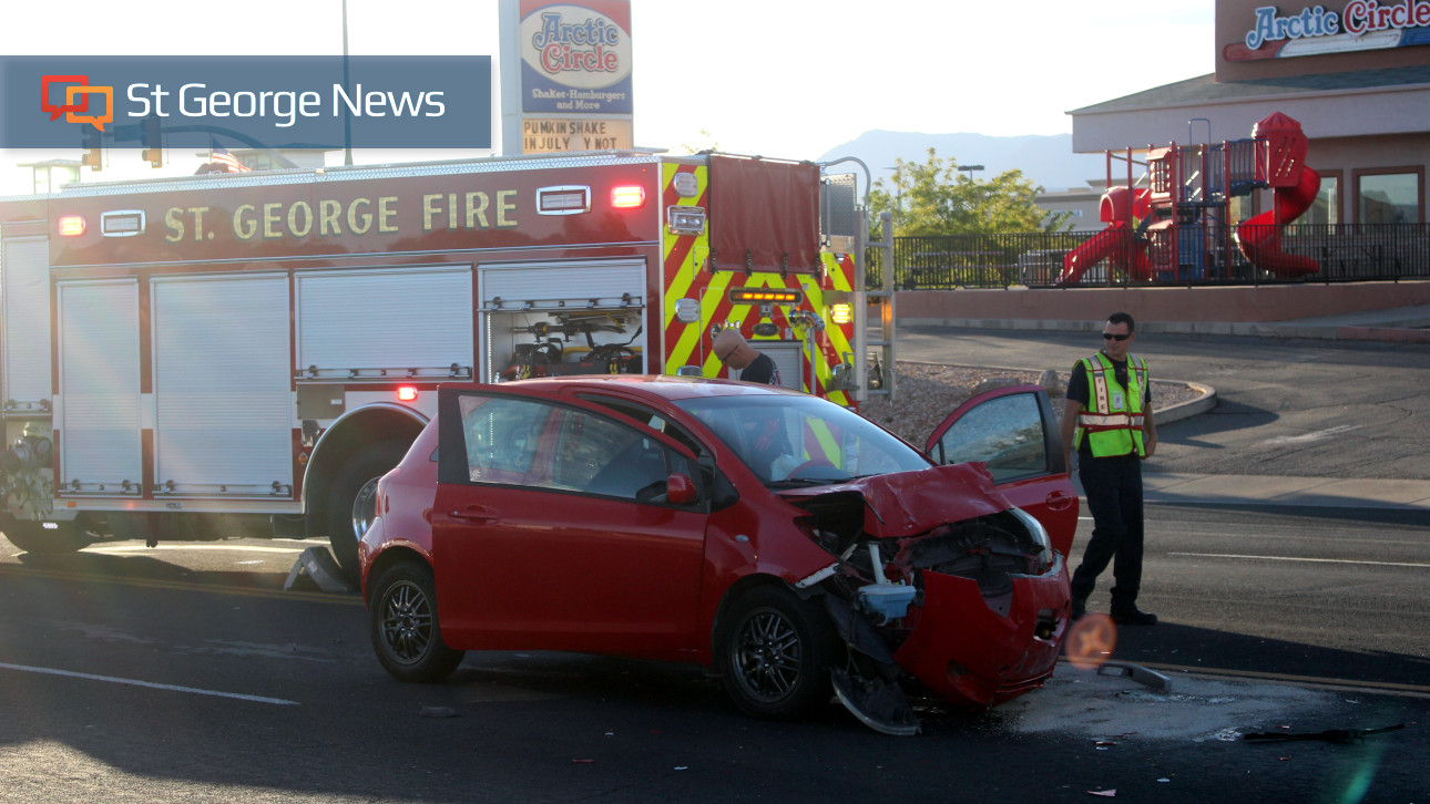 Woman Sent To Hospital After Rear End Crash On Sunset