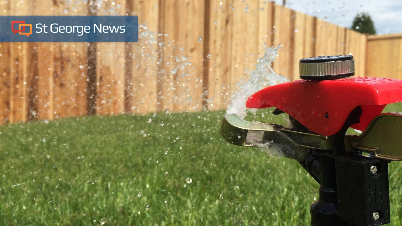 Low Sprinkler Pressure And Dry Spots On Your Lawn St George Officials Offer A Solution News