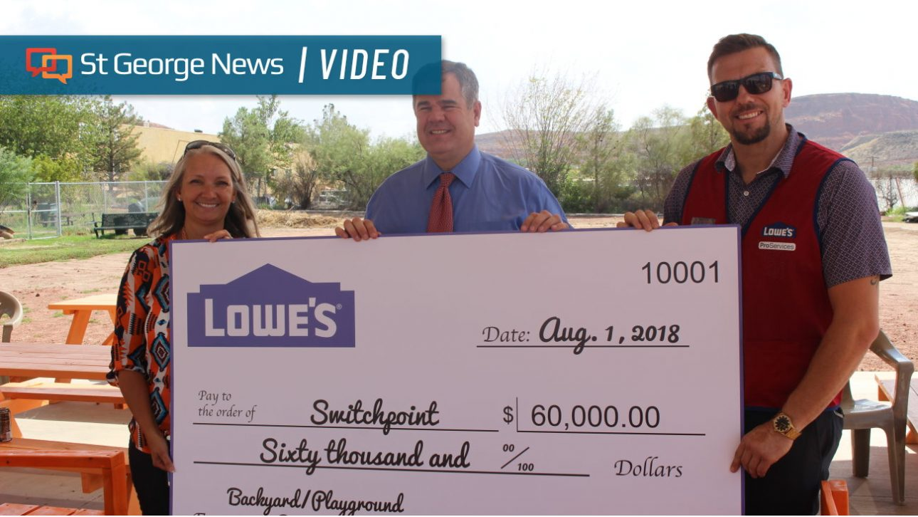 Lowes Donates 60k To Switchpoint For Playground St George News 4 Way Switch