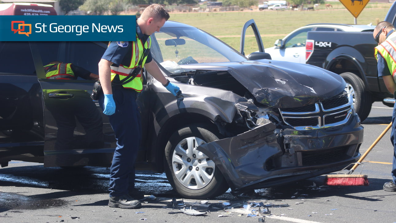 Collision On Riverside Drive Sends 3 To The Hospital St