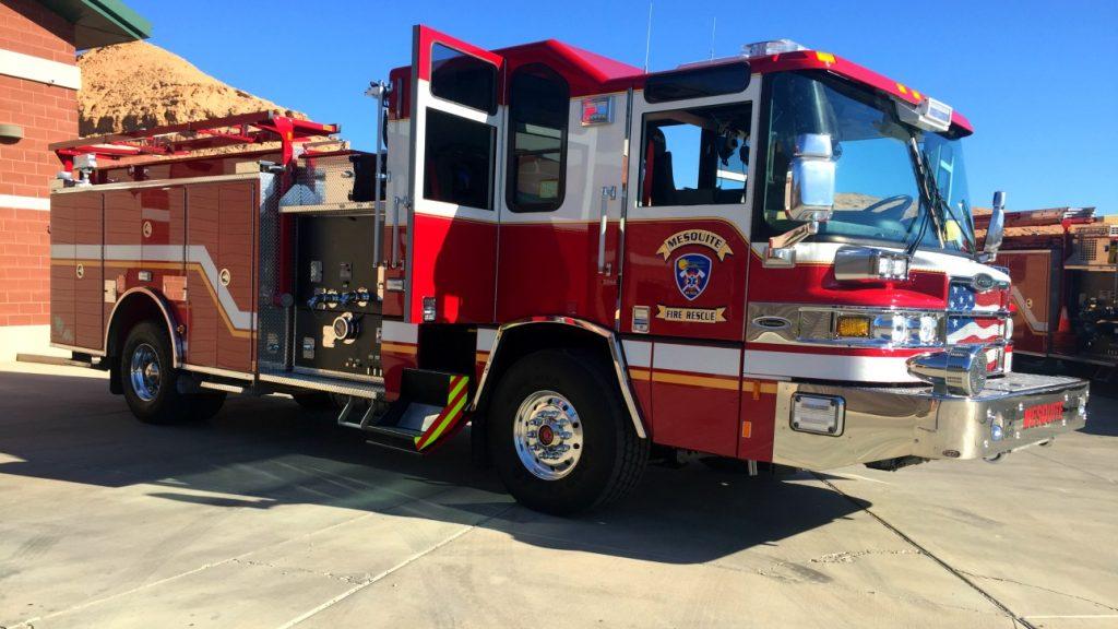 Community enjoys Mesquite Fire Department's pancake