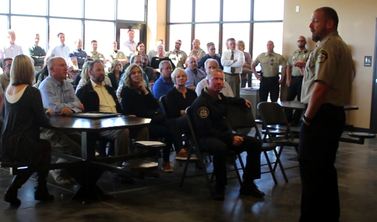 Exceptionnel ... Correctional Facilityu0027s Community Corrections Center At Ribbon Cutting  Ceremony, Hurricane, Utah, Oct. 15, 2018 | Photo By Cody Blowers, St. George  News