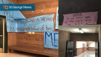 Longstanding traditions' disbanded at Snow Canyon High after banners