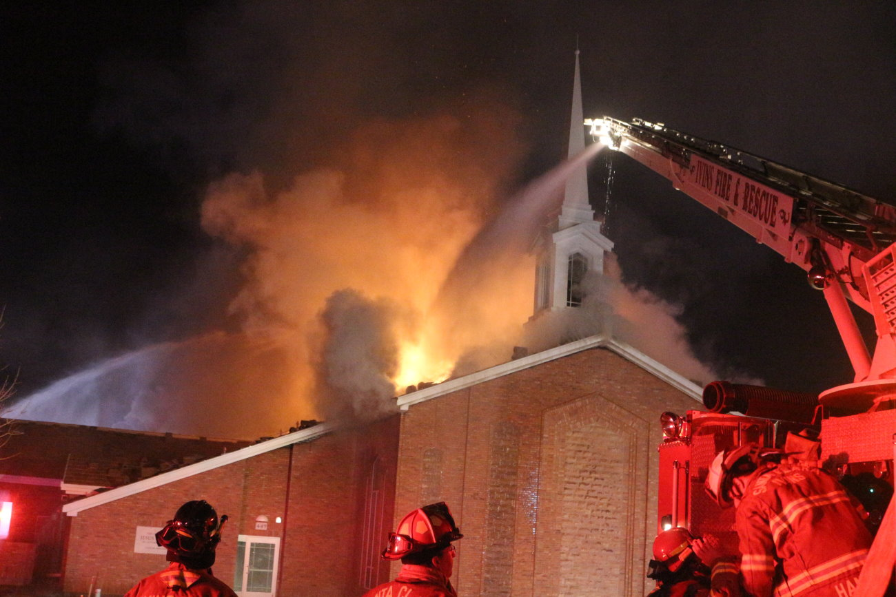 LDS Church Fire In Downtown St. George Being Treated As