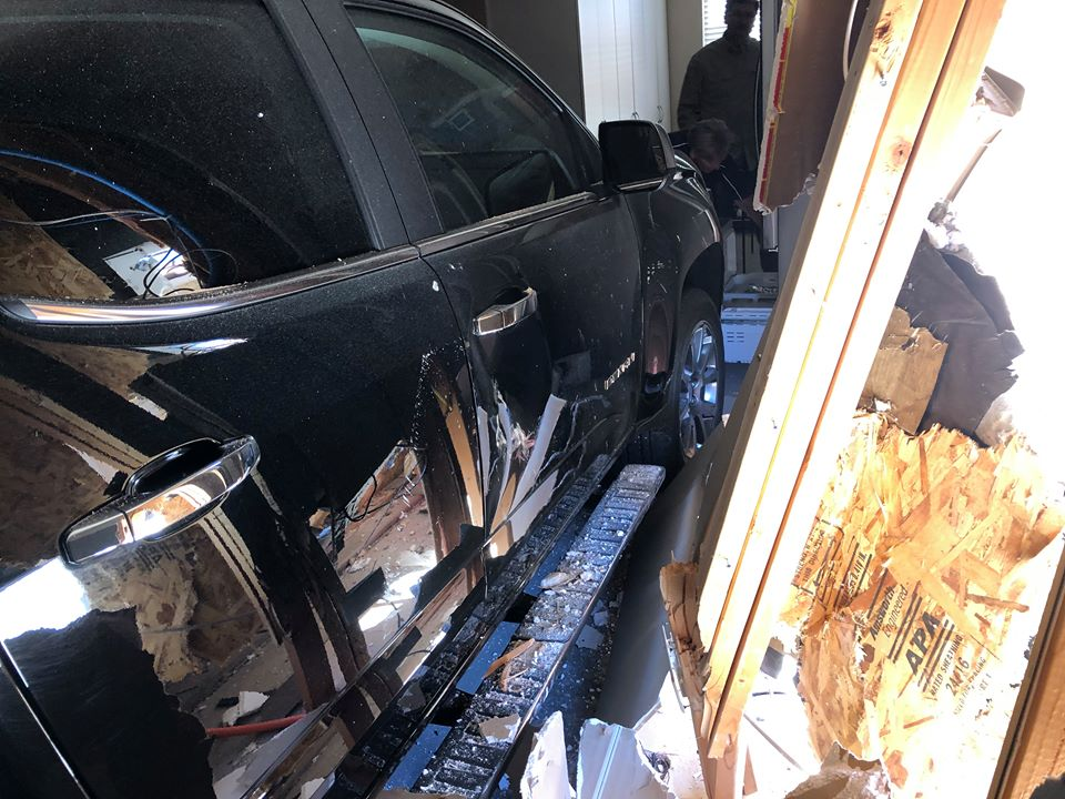 Suv Crashes Into Sunriver House When Driver Hits Gas