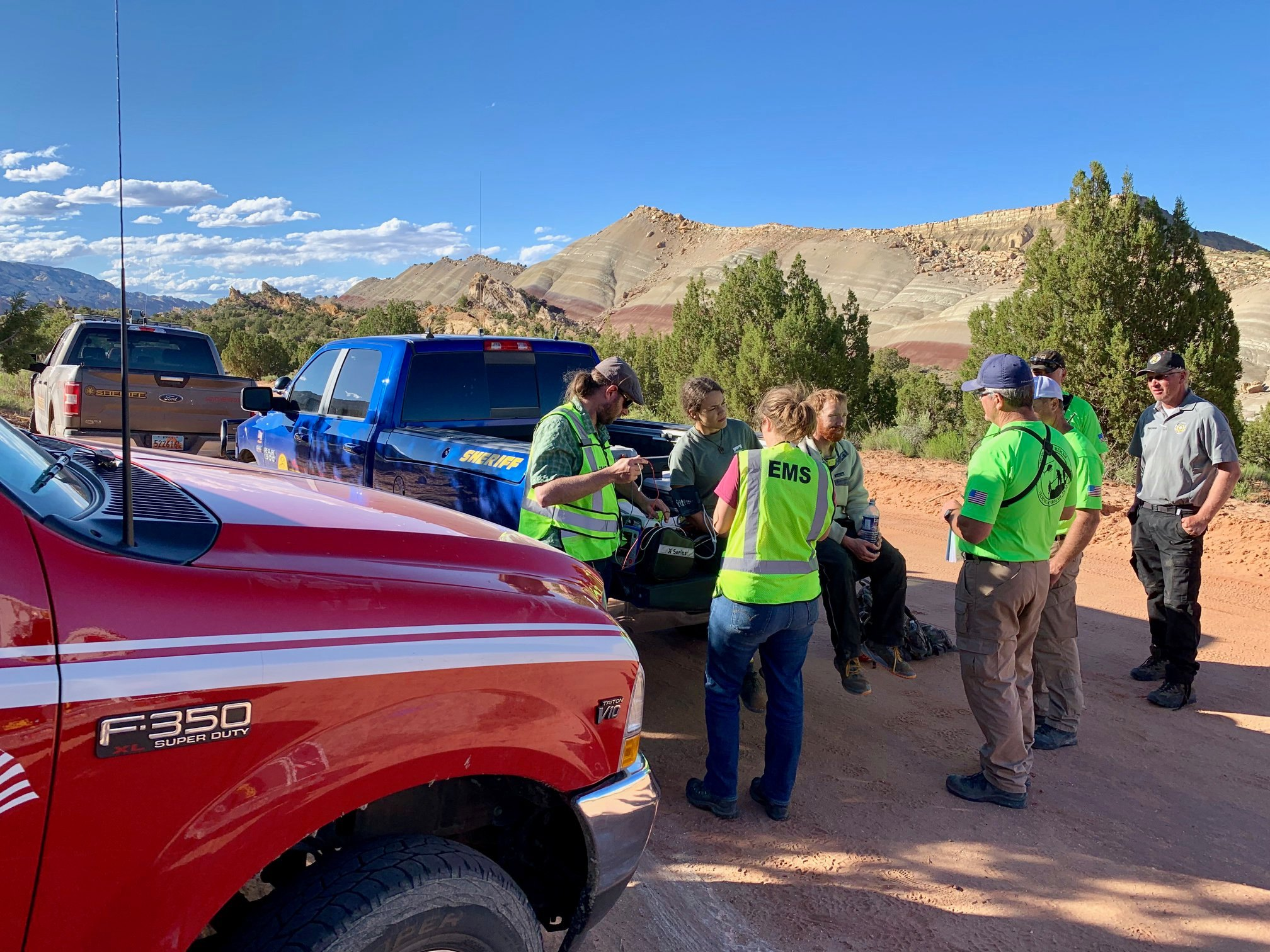 Crews Rescue 3 Hikers Suffering From Cold And Exhaustion In Garfield County Slot Canyon Cedar City News
