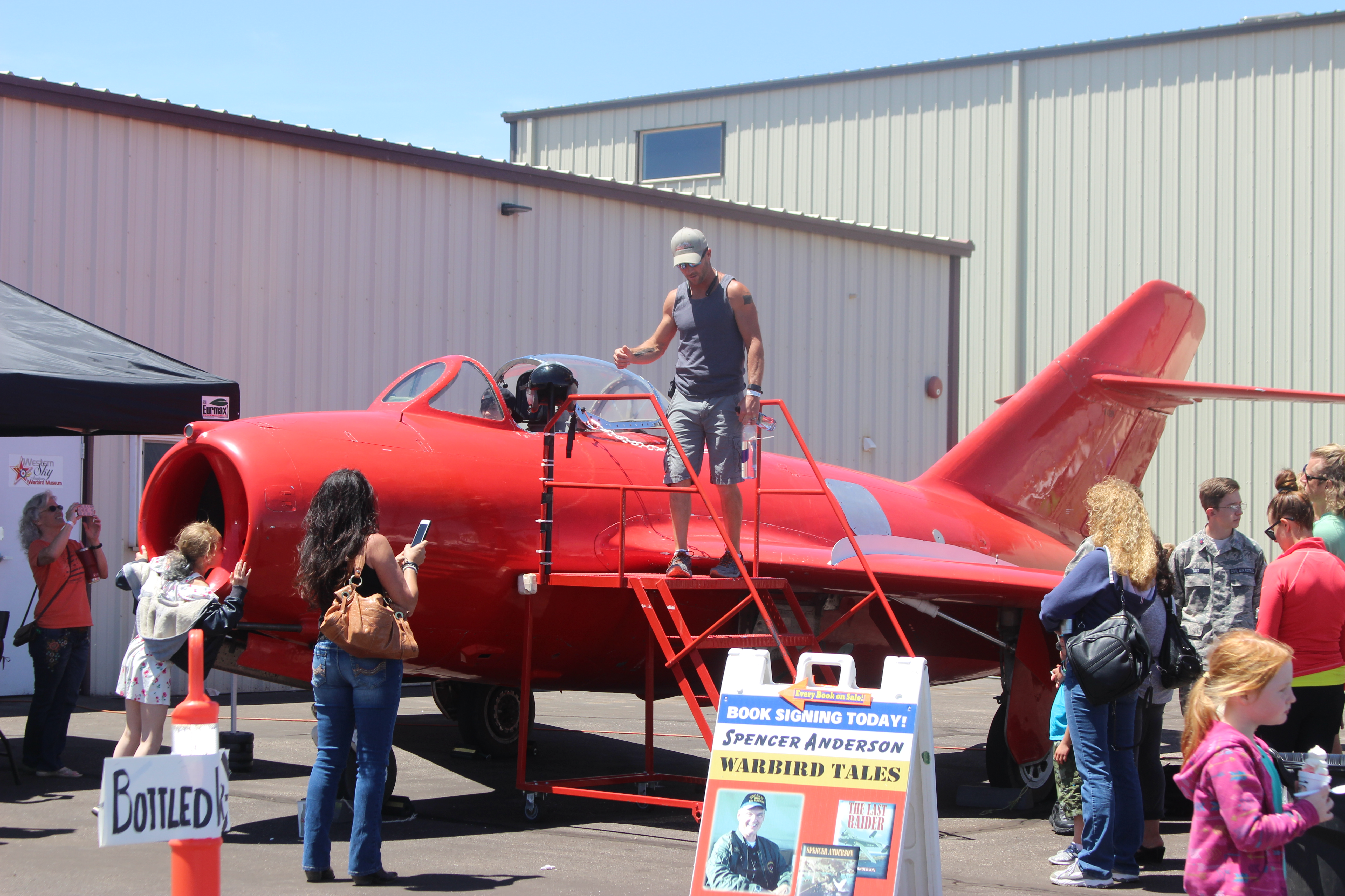 Warbirds museum celebrates 'Greatest Generation' at annual event