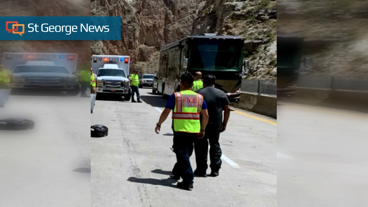Driver killed in Gorge when loose tire jumps median, crashes