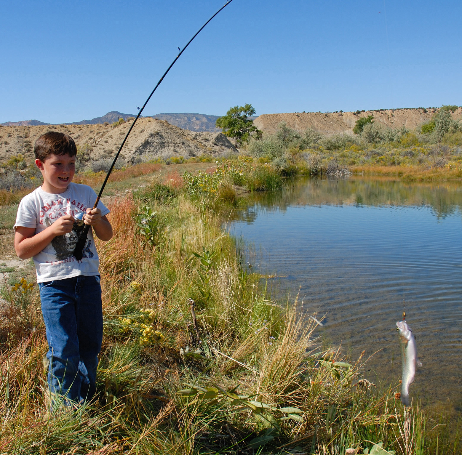 No license needed: 'Free Fishing Day' in Southern Utah