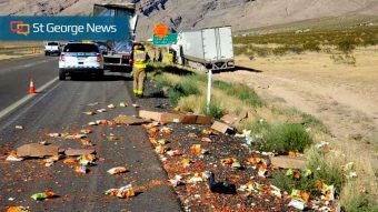 Tractor-trailer accident scatters 'Flamin' Hot Cheetos,' creates hot
