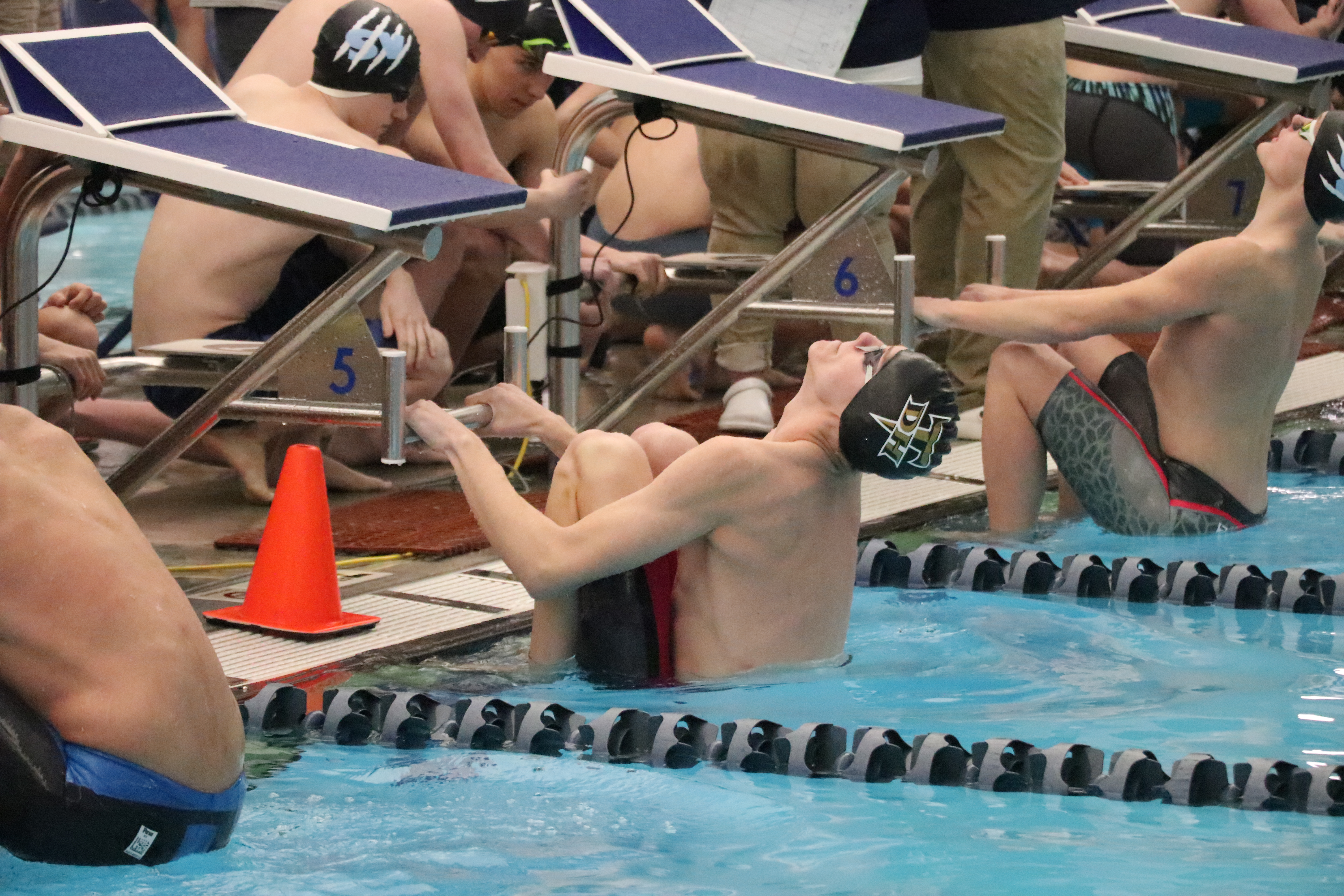 Desert Hills High Thunder Swim Teams Strike Repeat State Titles