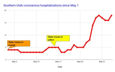 COVID Hospitalizations 6-3