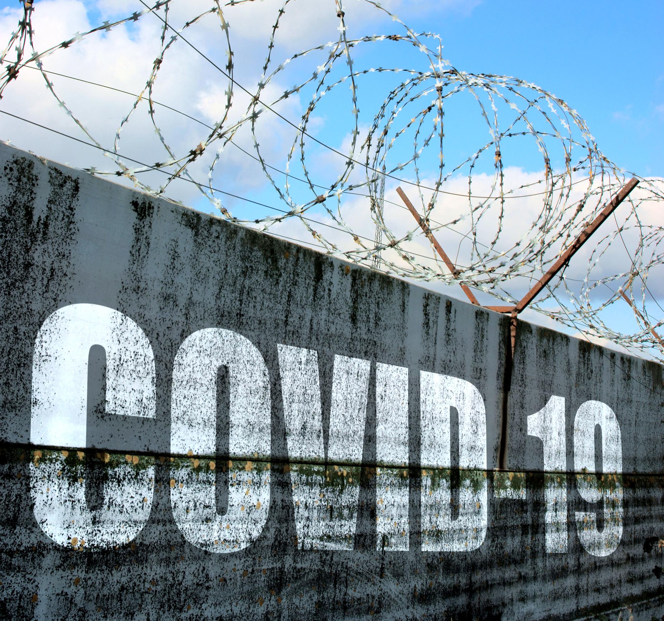 jail wall covid 19