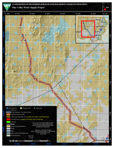 BLM seeks public input on Pine Valley Water Supply Project ...